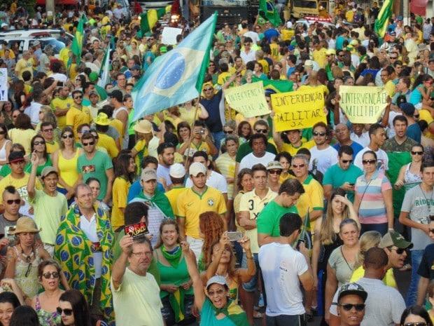 Movimentação realizada em 2015 em Assis (Foto: AssisNews/Diego Di Paula)