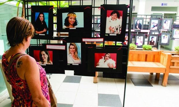 Exposição está aberta à visitação no hall do Hospital e no AME Assis até sexta-feira (Fotos: Henrique Guimarães, Laboratório de Fotografia - curso de Fotografia FEMA)