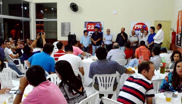 Encontro do Partido da Republica reuniu lideranças da cidade de Assis (Foto: Divulgação)