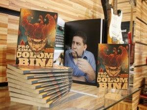Capa é assinada pelo artista plástico Marcelo Cabral.