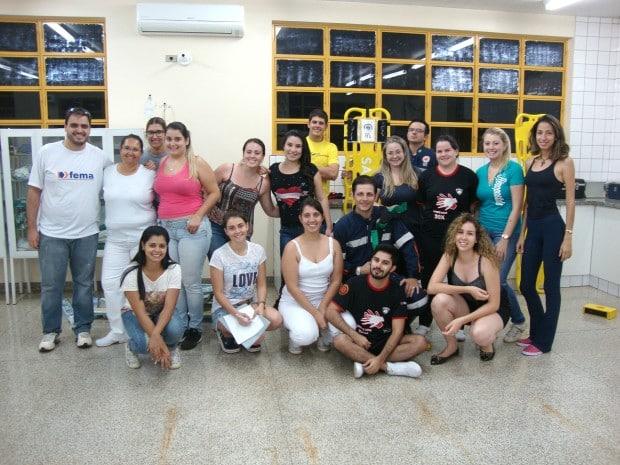 Os novos integrantes passam a atuar nos plantões a partir de abril (Foto: Divulgação/FEMA)