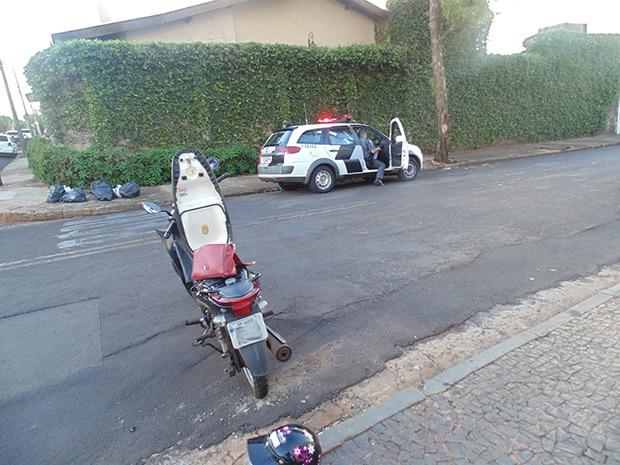 A polícia esteve no local (Foto: AssisNews)