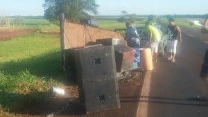 Banda sofre novo acidente (Foto: Divulgação)