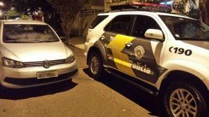 Jovem foi preso em flagrante por receptação  (Foto: Divulgação/Polícia Rodoviária)