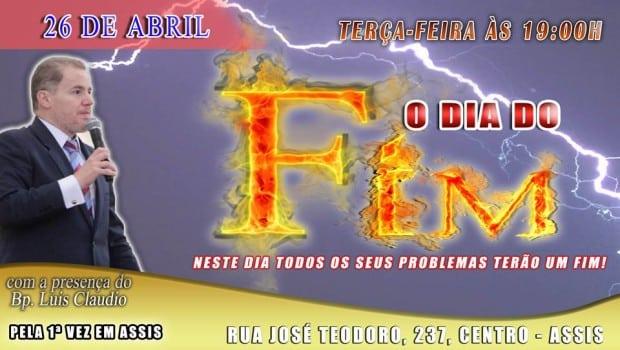 IURD realiza concentração de Fé, 'O dia do Fim' (Foto: Divulgação)