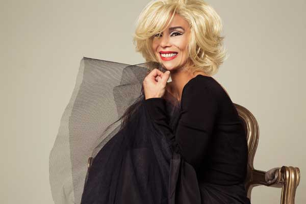 Danielle Winits interpreta Marilyn Monroe (Foto: Divulgação)