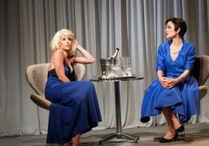 """Danielle Winits e Maria Eduarda de Carvalho na Comédia romântica """"DEPOIS DO AMOR - Um encontro com Marilyn Monroe"""" (Foto: Divulgação)"""