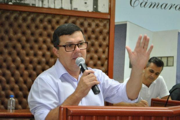 Claudecir Rodrigues Martins, Gordinho da Farmácia é o autor do projeto (Foto: Divulgação)