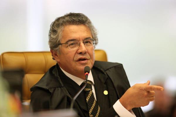 Ministro Marco Aurélio de Mello, do Supremo Tribunal Federal (STF) (Foto: Reprodução)