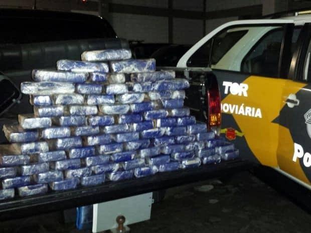 Motorista receberia R$ 35 mil para o transporte do entorpecente (Foto: TOR/Divulgação)