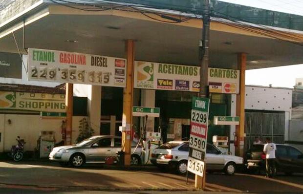 Preços do etanol registra uma pequena queda em Abril (Foto: AssisNews)