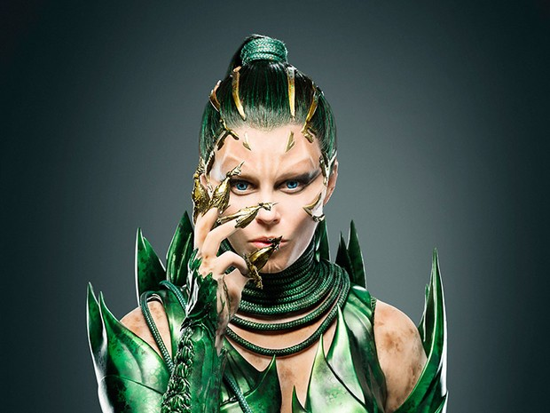 Elizabeth Banks como Rita Repulsa no novo filme dos 'Power Rangers' (Foto: Divulgação/EW)