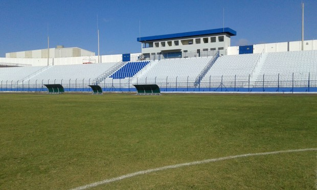 Estádio Municipal Antônio Viana da Silva (Foto: Reprodução)