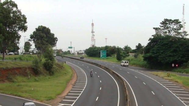O acidente aconteceu no KM 454 no trecho de Marília (SP) (Foto: Reprodução)