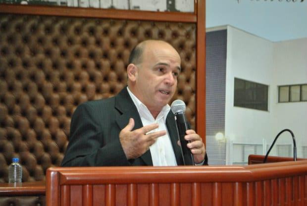 Vereador José Luiz Garcia, do PT (Foto: Reprodução/Câmara)