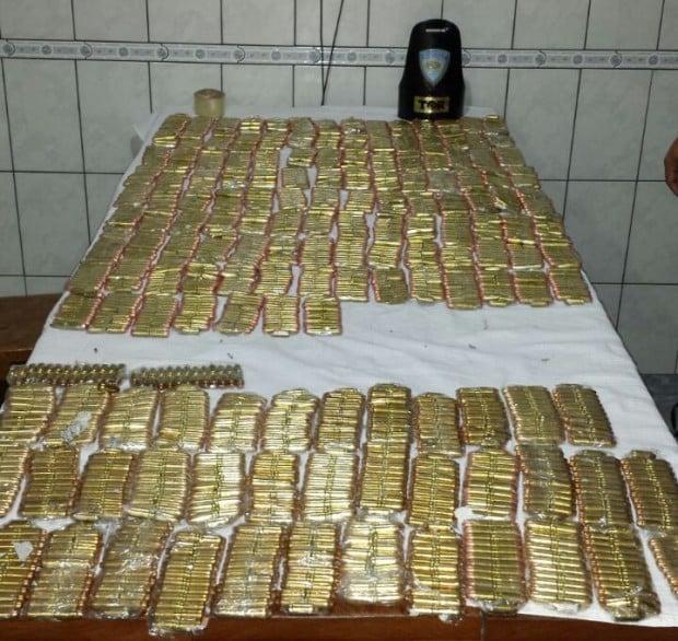 No total foram 6 mil munições apreendidas (Foto: Polícia Rodoviária/Divulgação)