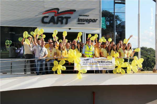 CART integra o Movimento Maio Amarelo por um trânsito mais humano
