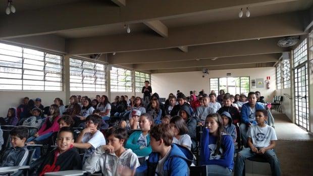 Objetivo da palestra foi conscientizar os alunos sobre a importância do respeito às diferenças (Foto: Divulgação)