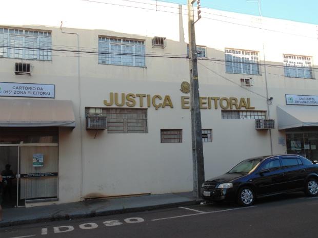 Cartório Eleitoral de Assis  (Foto: Diego Di Paula/AssisNews)