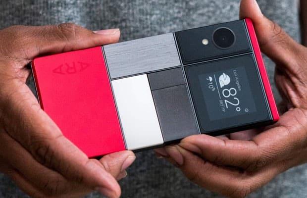 Smartphone 'para montar' do Google, batizado de 'projeto Ara'. (Foto: Reprodução/Google)