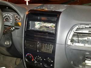 Munições estavam em fundo falso do veículo (Foto: Polícia Rodoviária/Divulgação)