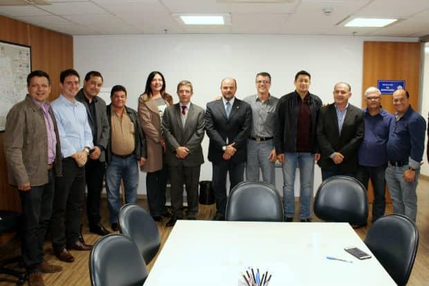 Reunião do CIVAP na Artesp (Foto: Divulgação)