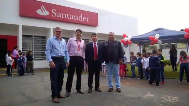 Estiveram presentes o vereador Gilson do Cateto e o empresário Cláudio Gonçalves (Foto: Reprodução)