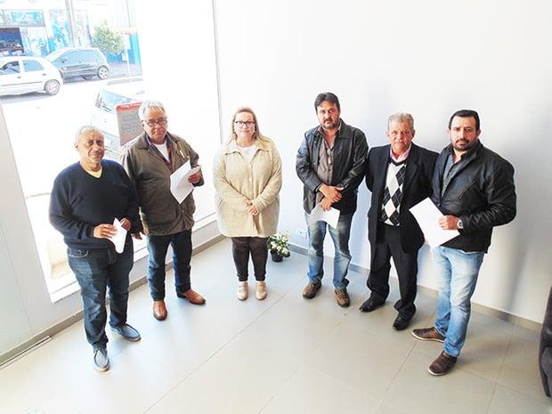Representantes, Pré-candidatos e a apresentadora Bebel Dias (Foto: AssisNews)