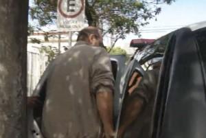 Vereador foi preso durante a operação da Polícia Civil (Foto: Reprodução / TV TEM)