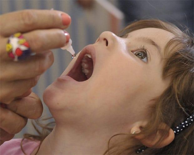 Campanha de vacinação da pólio é adiada devido à Olimpíada (Foto: José Cruz/Agência Brasil)