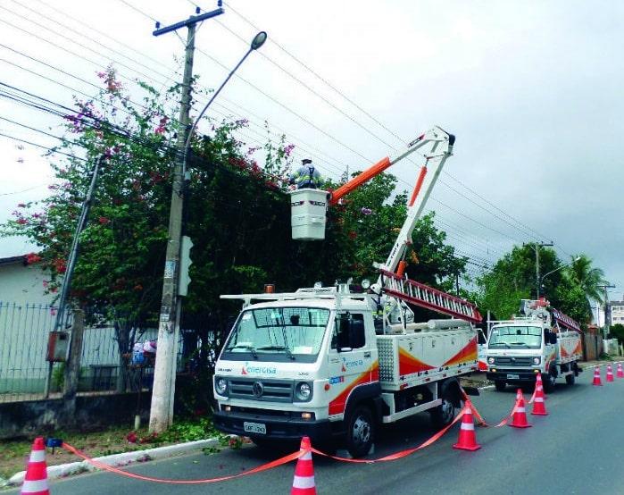 A interrupção é necessária para executar obras de manutenção e melhoria na rede elétrica (Foto: Divulgação)