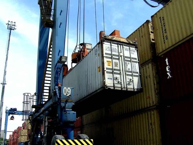 Produtos industrializados perderam espaço nas exportações. (Foto: Reprodução GloboNews)
