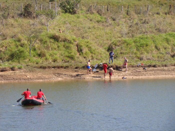 Homem morre afogado em Marília (Foto: Gabriel Tedde / Marília Notícias)