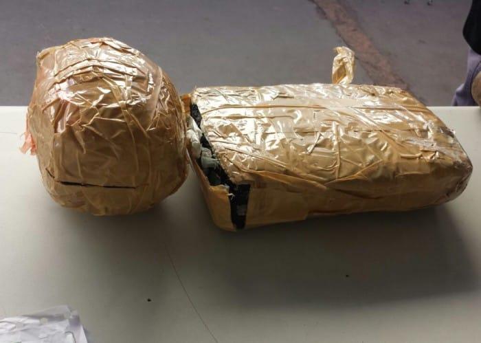 Droga seria entregue em Campinas (SP) (Foto: Polícia Rodoviária/Divulgação)