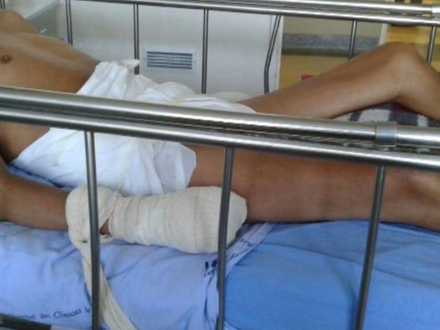 Homem esperava cirurgia há três meses (Foto: Reprodução / TV TEM)