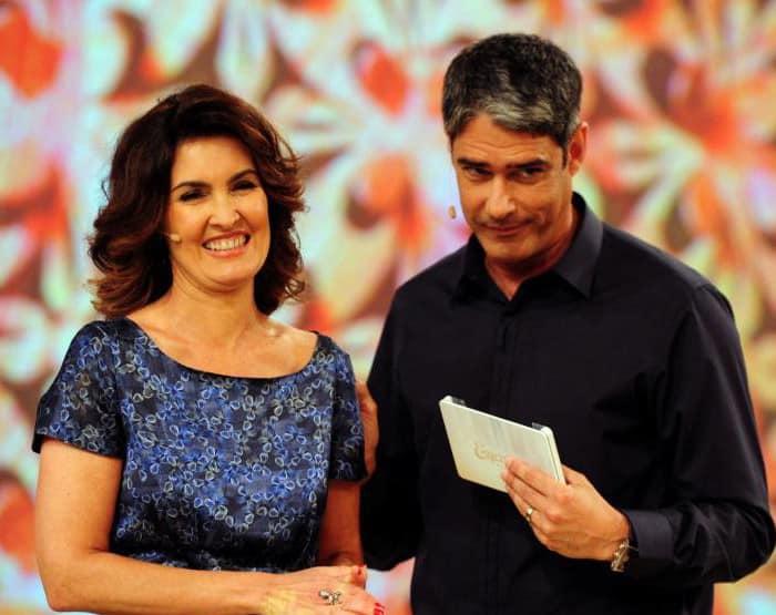 Fátima e William Bonner anunciam fim do casamento em rede social