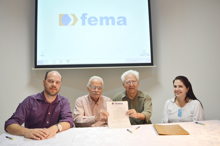 Eduardo Vella, Ulysses, Seijim e Ana (Foto: Divulgação)