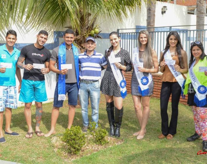 Sincomerciários faz entrega de premiação aos ganhadores do Miss e Mister Comerciários (Foto: Divulgação)