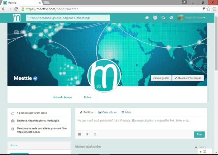 Página Meettie