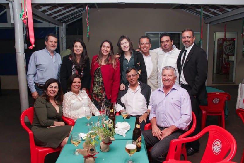 AEASSIS reúne associados em jantar italiano (Foto: Divulgação)