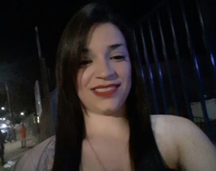 Liney Cristina Correa, um moça de apenas 25 anos (Foto: Reprodução/Facebook)