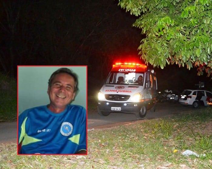 Noite da rebelião; no detalhe, o agente assassinado Francisco Calixto. (Foto: Leonardo Moreno)