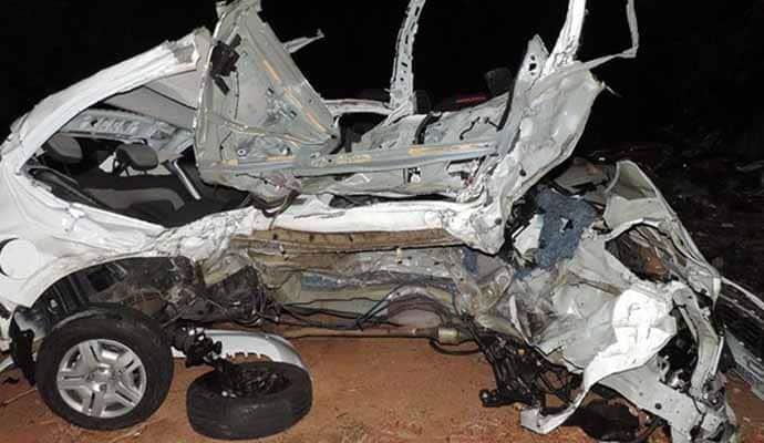 Acidente na SP-294 (Foto: Diego Fernandes/Folha Regional)