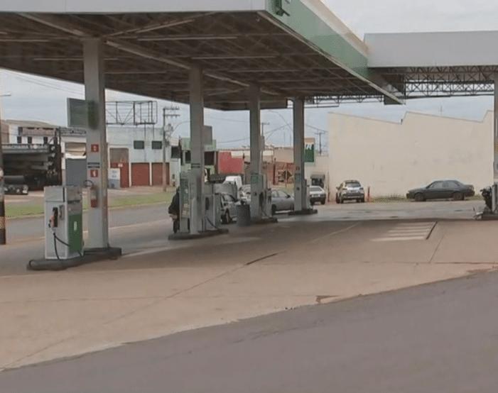 Funcionária de posto morreu após passar mal em Jaú (Foto: Reprodução/TV TEM)