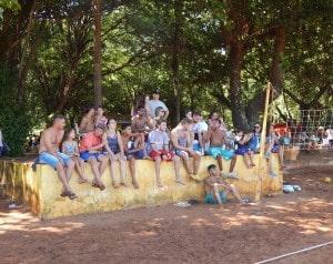Campeonato de futevôlei agita balneário municipal de Florínea (SP) (Foto: Prefeitura de Florínea/Divulgação)