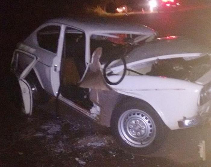 Vítima morreu no local do acidente, segundo a Polícia Civil (Foto: Guarda Municipal de Martinópolis/Cedida)