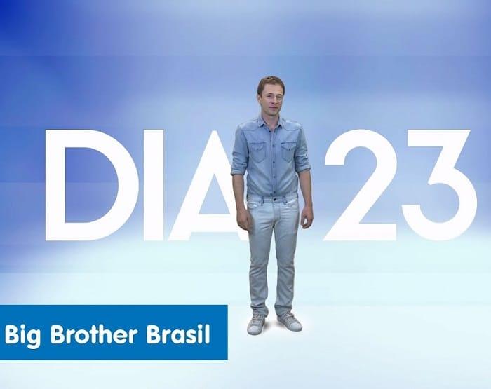 """Globo exibe primeira chamada do """"BBB17"""" com Tiago Leifert imagem: Reprodução/TV Globo"""