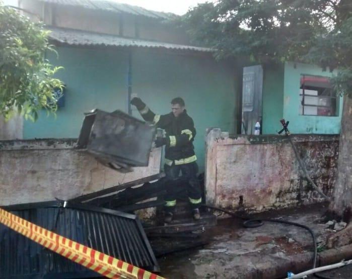 Bebê morreu carbonizado em casa (Foto: Sidevaldo Magalhães da Cunha/Arquivo Pessoal)