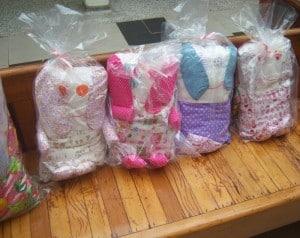 O lindo projeto Naninhas do Bem voltou a beneficiar as crianças do Hospital e Maternidade da OSS Santa Casa de Assis