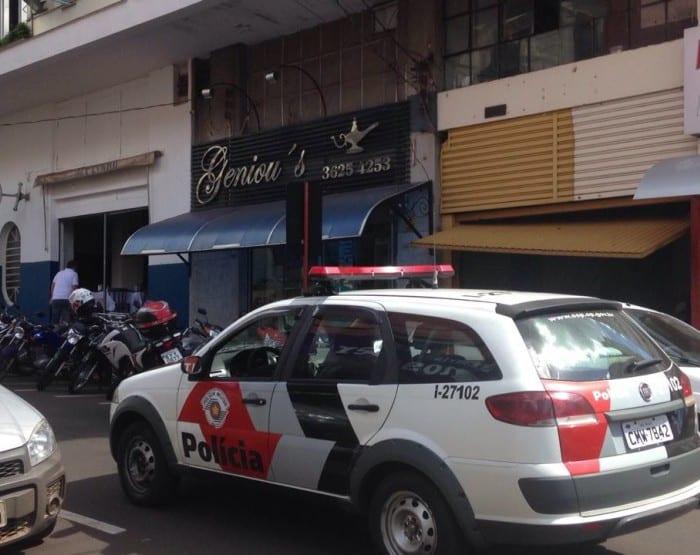 Suspeito também teria assaltado joalheria em Jaú (Foto: Corpo de Bombeiros/Divulgação)